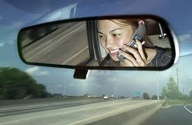 driving cell phone